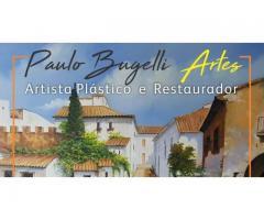 Paulo Bugelli Artista Plástico e Restaurador