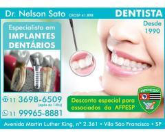 DENTISTA - Implante Dentário